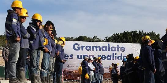 La reconstrucción de Gramalote estará lista en septiembre del 2016