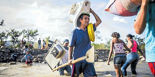 Cierre de la frontera entre Colombia y Venezuela noticias del año
