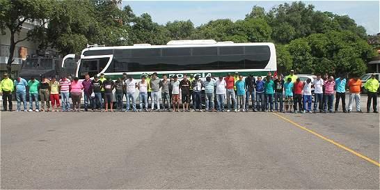 Redada en la frontera contra el 'clan Úsuga' deja 33 capturados