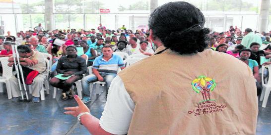 Piden celeridad a jueces de restitución de tierras en el Eje Cafetero