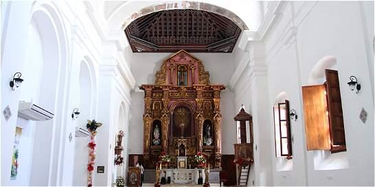 La iglesia Santo Toribio renace en Cartagena