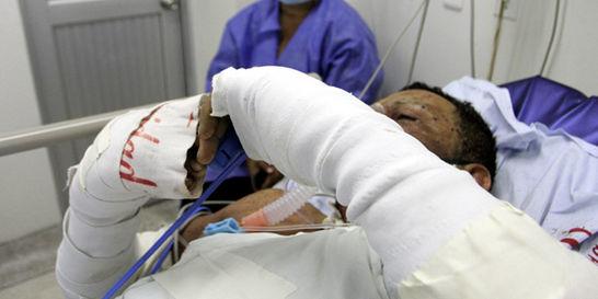 La pólvora ya deja en diciembre 330 personas lesionadas