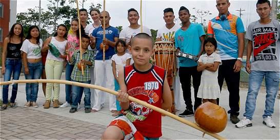 Con capoeira buscan promover los valores en Pereira