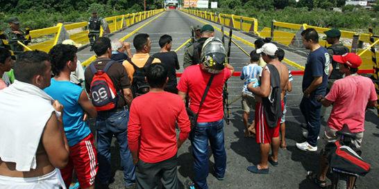 Albergues en Cúcuta, cercanos a la frontera, ya fueron evacuados