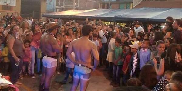 Desnudistas en Anzoátegui (Tolima)