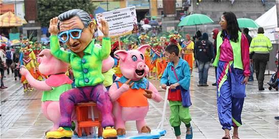 Con el 'Carnavalito' se prendió la fiesta en Pasto