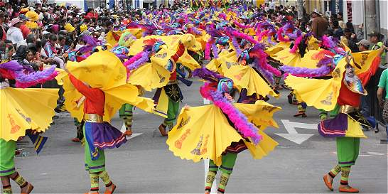 Siete kilómetros de tributo a los Andes en Carnaval de Pasto