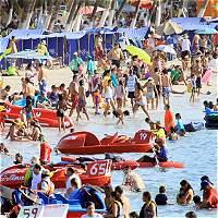 Más de 500.000 turistas visitaron la Costa Caribe esta temporada alta