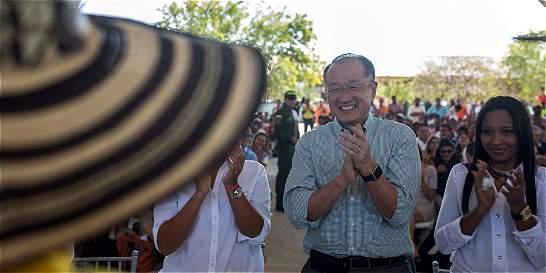 Jefe de Banco Mundial visitó proyectos de paz realizados en Colombia