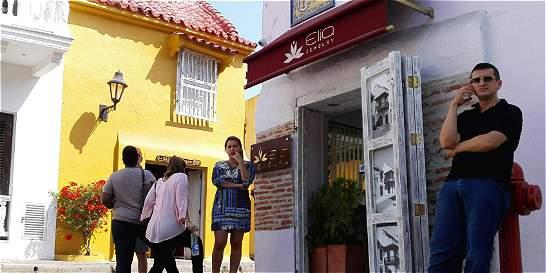 Investigan millonario robo a joyería del centro histórico de Cartagena