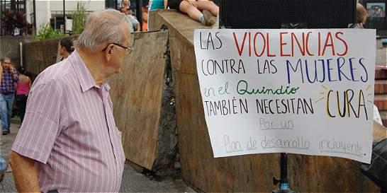 Preocupa violencia contra las mujeres en Quindío