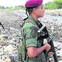 Miembros de la guardia venezolana.