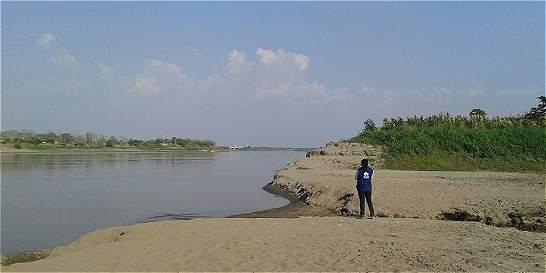 Dramáticas imágenes de la sequía del Río Magdalena en Bolívar