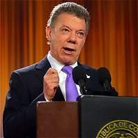 Presidente Santos convoca consejo de seguridad por atentado en Arauca