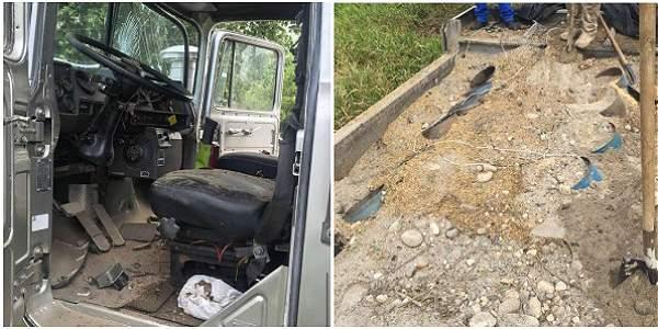 Dos artefactos más que cayeron en un potrero no lograron explotar y serán accionados de manera controlada por expertos antiexplosivos.