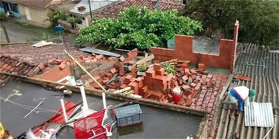 Vendaval afectó 123 viviendas en Santander de Quilichao