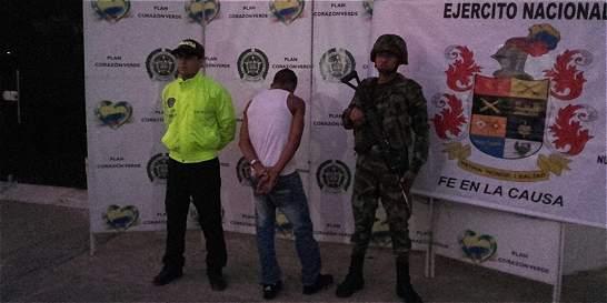 Capturaron a guerrillero que extorsionaba a los mineros ilegales