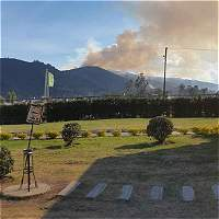 Emergencia por incendio en Guatavita y Gachancipá en Cundinamarca