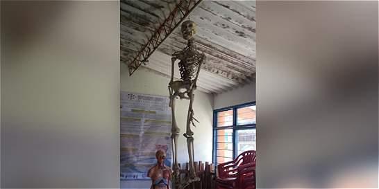 La historia del esqueleto de Tacueyó (Cauca)