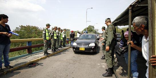Venezuela cerró frontera, tras cinco horas de reapertura