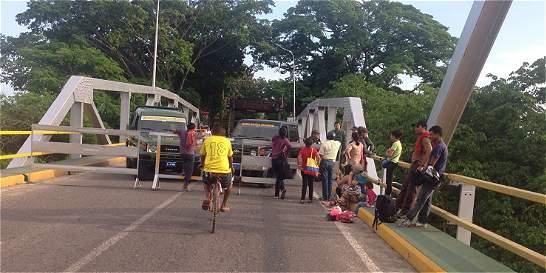 Gobernador de Arauca prefiere la frontera con Venezuela cerrada
