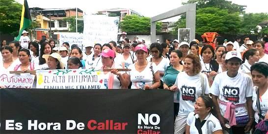 Finaliza retorno simbólico de mujeres sobrevivientes en el Putumayo