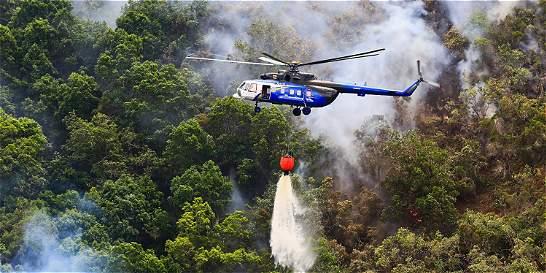 Controlan en un 80% incendio en el páramo de Santurbán