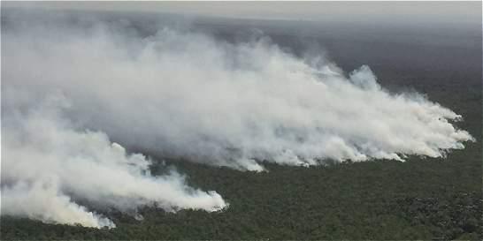 Incendio en Unguía (Chocó) destruyó 1.500 hectaréas