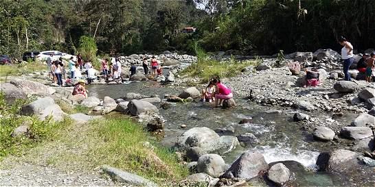 Río Combeima, azotado por turismo desordenado
