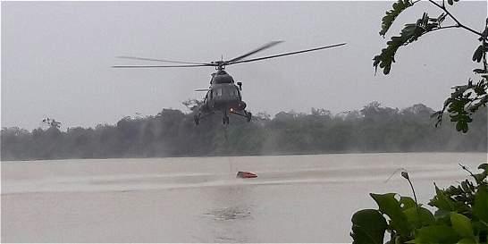 Continúan los esfuerzos para controlar incendio en Chocó