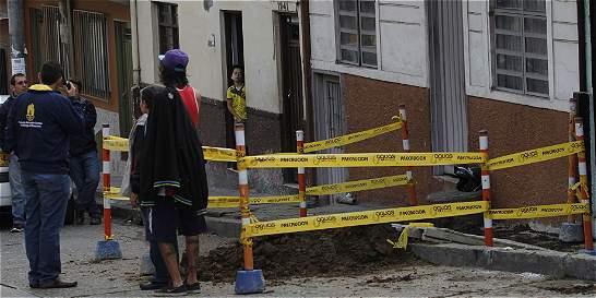 Inundación deja siete familias afectadas en Manizales