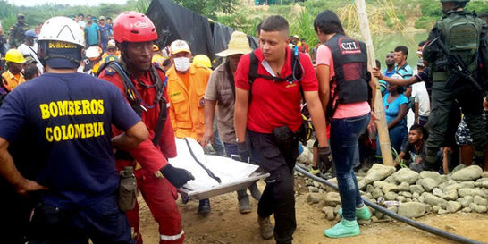 Mina del Cauca en donde murieron cuatro personas tenía orden de cierre