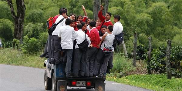 Estado debe garantizar transporte escolar en las zonas apartadas