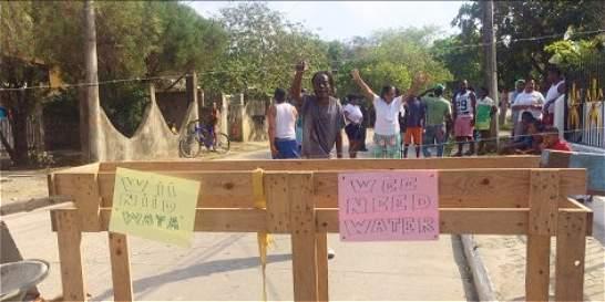 Medidas para mitigar el desabastecimiento de agua en San Andrés