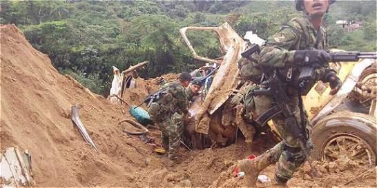 Nueve muertos dejó alud de tierra en el Chocó