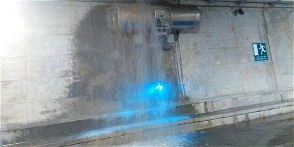 Tras 12 días de inaugurado se inundó el Túnel de Crespo en ...