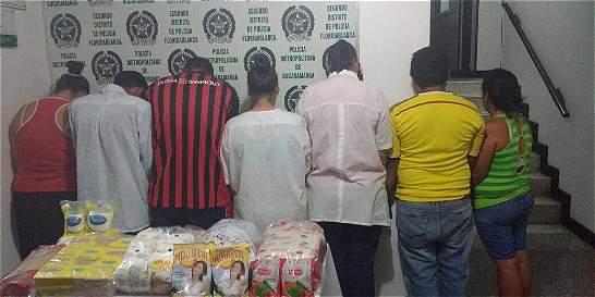 Capturadas siete personas que intentaban robar alimentos de un colegio