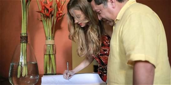 Sofía Vergara recibió las llaves de Cartagena