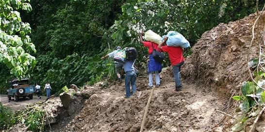 Lluvias causan estragos en Tolima y Huila
