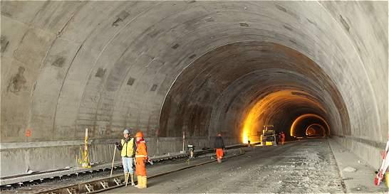 'El túnel estará en el segundo semestre del 2018'