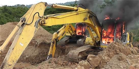 Hallan en el sur de Bolívar tres minas ilegales operadas por el Eln