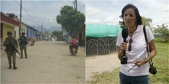 El Tarra, el corredor guerrillero donde buscan a Salud Hernández
