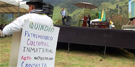 30 mil firmas para convocar a la consulta popular en Quindío