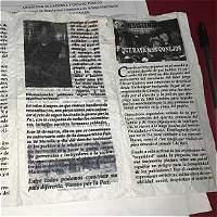 En panfleto, Frente 59 de las Farc amenaza a alcalde de Fonseca