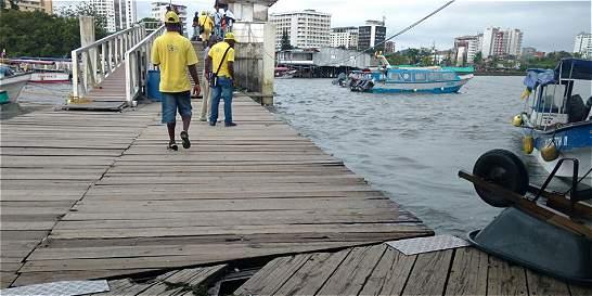Alerta por deterioro del muelle turístico de Buenaventura