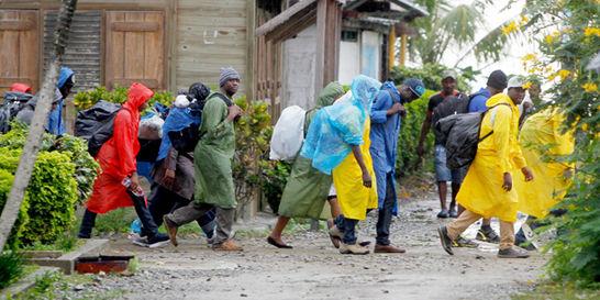 Se desbordó la crisis de migrantes irregulares en el Urabá