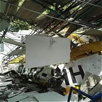 Accidente de avioneta destruyó una fábrica palmicultora en Santander