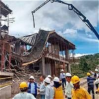 Accidente de construcción en Gramalote deja un muerto y dos heridos