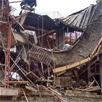 Se derrumba piso de alcaldía de Gramalote, Norte de Santander