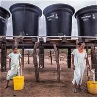 Los Wayúu reactivaron pozos de agua con energía solar y pedalazos